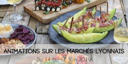 Animations marchés lyonnais - Fête des fruits et légumes frais