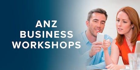 ANZ How to write an effective business plan, Invercargill tickets