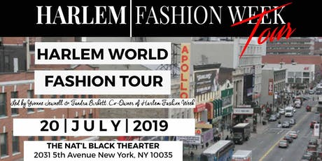 HARLEM FASHION TOUR | July 2019 tickets