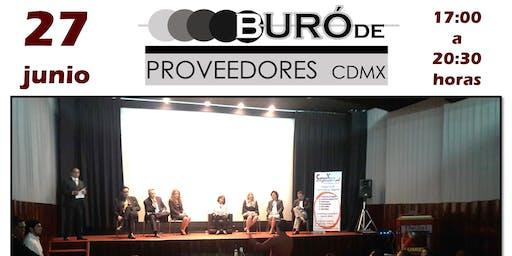 Buró de Proveedores CDMX Junio