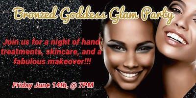 Bronzed Goddess Glam Party