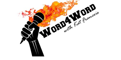 Word4Word Poetry Slam with Kat Francois