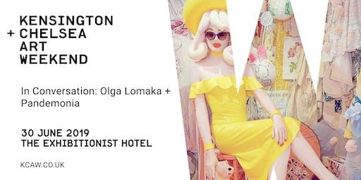 In Conversation: Pandemonia + Olga Lomaka, moderated by Robin Osmani