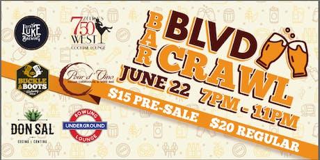 The Blvd Bar Crawl tickets