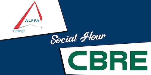 ALPFA Chicago & CBRE - Social Hour!