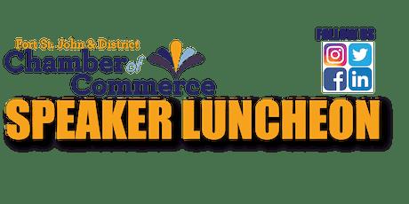 FSJ Chamber Speaker Luncheon - July 16 - Kelly McTaggart - CAPP tickets