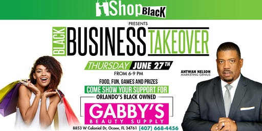 Black Business Takeover by iShopBlack