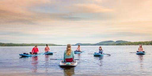 Sup Yoga - Lac Brompton - été 2019