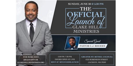 Glake Hill Ministries Official Launch tickets