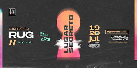 Conferência RUG 2019 ingressos