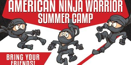 American Ninja Warrior - Summer Camp tickets