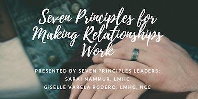 Workshop: The Seven Principles for Making Relationships Work