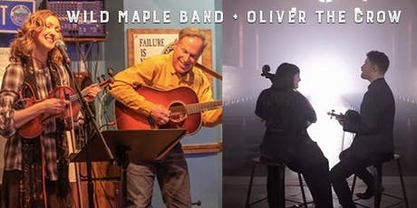 Wild Maple Band and Oliver the Crow tickets