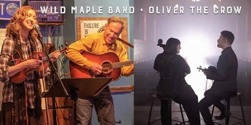 Wild Maple Band and Oliver the Crow