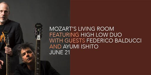 Mozart's Living Room, June 21