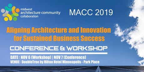 MACC 2019 Conference & Workshop tickets