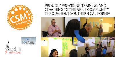 Certified Scrum Master Training (CSM) San Diego, CA October 2019