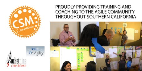 Certified Scrum Master Training (CSM) San Diego, CA October 2019 tickets