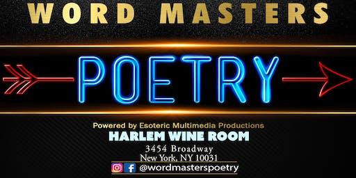 Word Masters Poetry