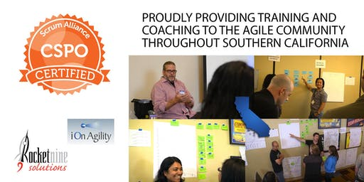 Certified Scrum Product Owner Training (CSPO) - San Diego - October 2019