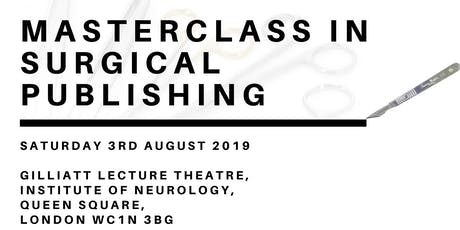 Masterclass in Surgical Publishing tickets