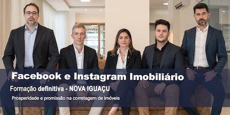 Facebook e Instagram Imobiliário DEFINITIVO - Nova Iguaçu ingressos