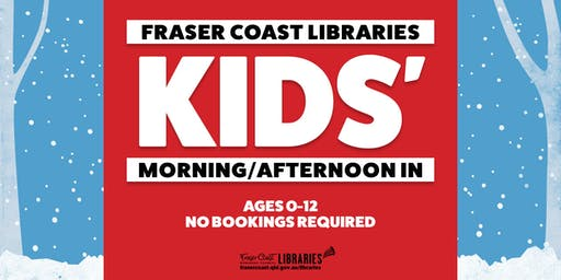 Winter Fun Kids' Morning In - Hervey Bay Library - Ages 0-12