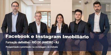 Facebook e Instagram Imobiliário DEFINITIVO - Rio de Janeiro ingressos