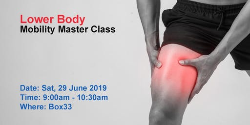 Lower Body Mobility - Mobility Master Class Series