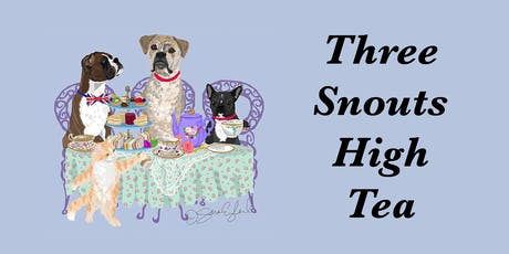 Three Snouts High Tea - A fundraising event for local animal rescues tickets