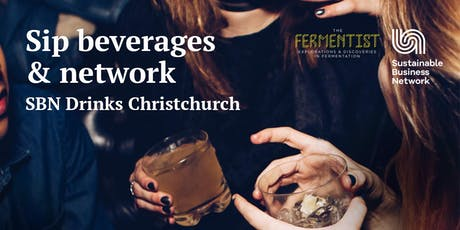 Sip Beverages and Network - SBN Drinks, Christchurch tickets