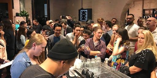 Grinders annual Latte art comp 2019