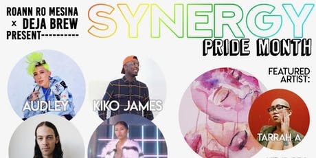 """Roann RO Mesina presents """"Synergy"""" PRIDE MONTH (all ages) tickets"""