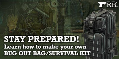 Learn How to Build Your Own Bug Out Bag/Survival Kit