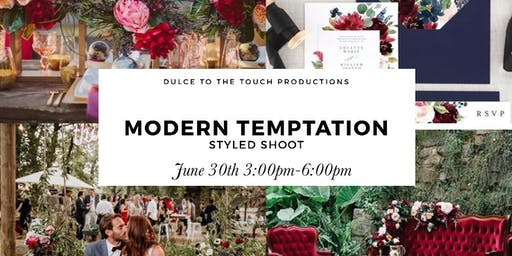 Modern Temptation Styled Shoot