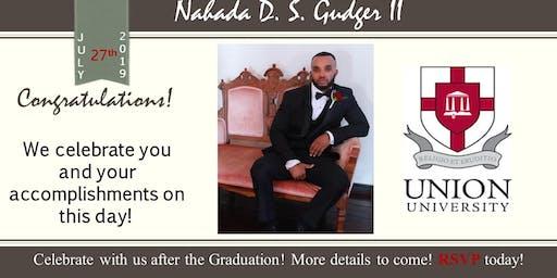 Graduation Celebration: Dr. Nahada D.S. Gudger II