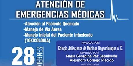 Atención de Emergencias Médicas boletos