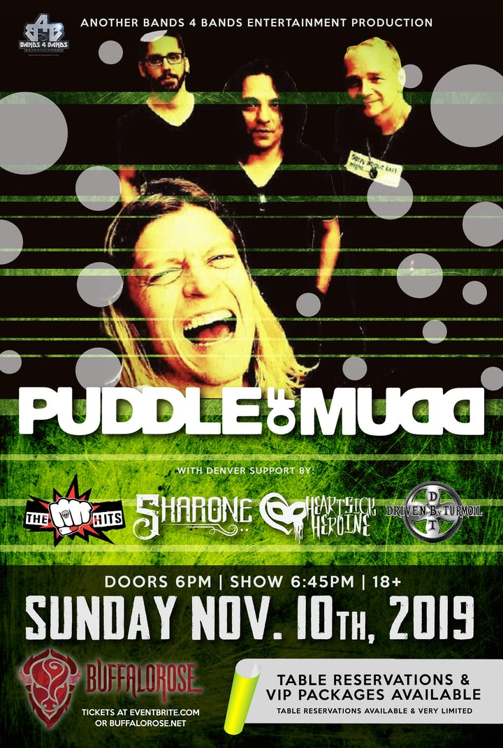 Puddle Of Mudd Tour Cancelled