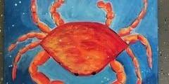 Summer Crab Painting at 15c