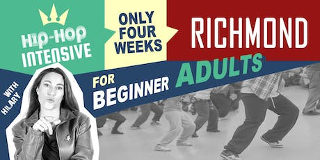 Hip-Hop / Dancehall for Beginner Adults - RICHMOND tickets