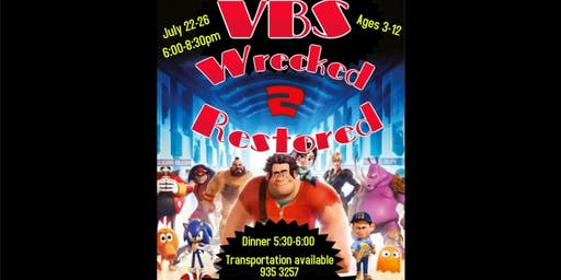 Wrecked to Restored VBS