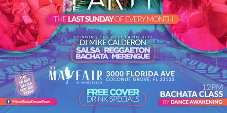 The Miami Latin Rooftop Pool Party: Summer Edition Part I tickets