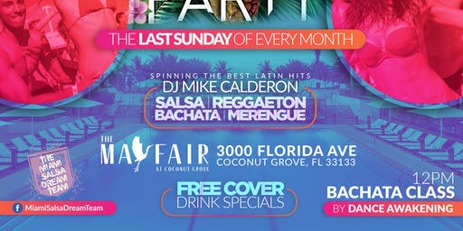 The Miami Latin Rooftop Pool Party: Summer Edition Part I