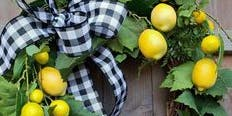 Summer Wreath Making | Art + Wine Class