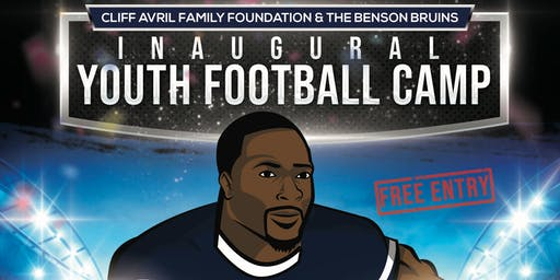 Cliff Avril Family Foundation & the Benson Bruins Youth Football Camp