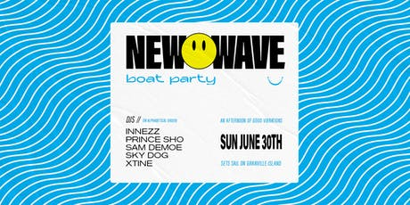 New Wave Summer Boat Party tickets