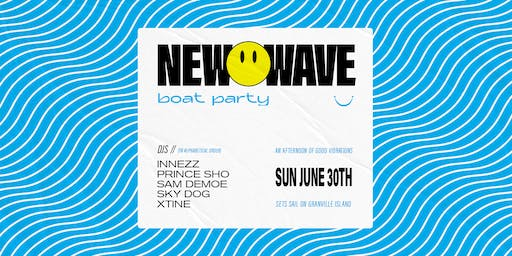 New Wave Summer Boat Party