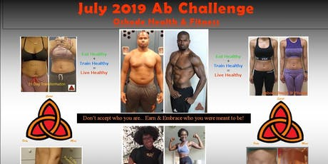 Oshode Health & Fitness 2019 July Ab Challenge (REGISTRATION ONLY) tickets