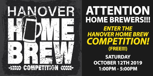 Hanover Home Brewers Competition
