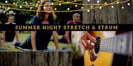 Summer Night Stretch & Strum tickets